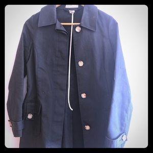 Black trench coat Old Navy